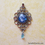 Blue Planet with Filigree