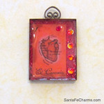 Anatomical Heart Charm